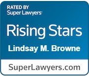SuperLawyers Rising Stars - Lindsay M. Browne